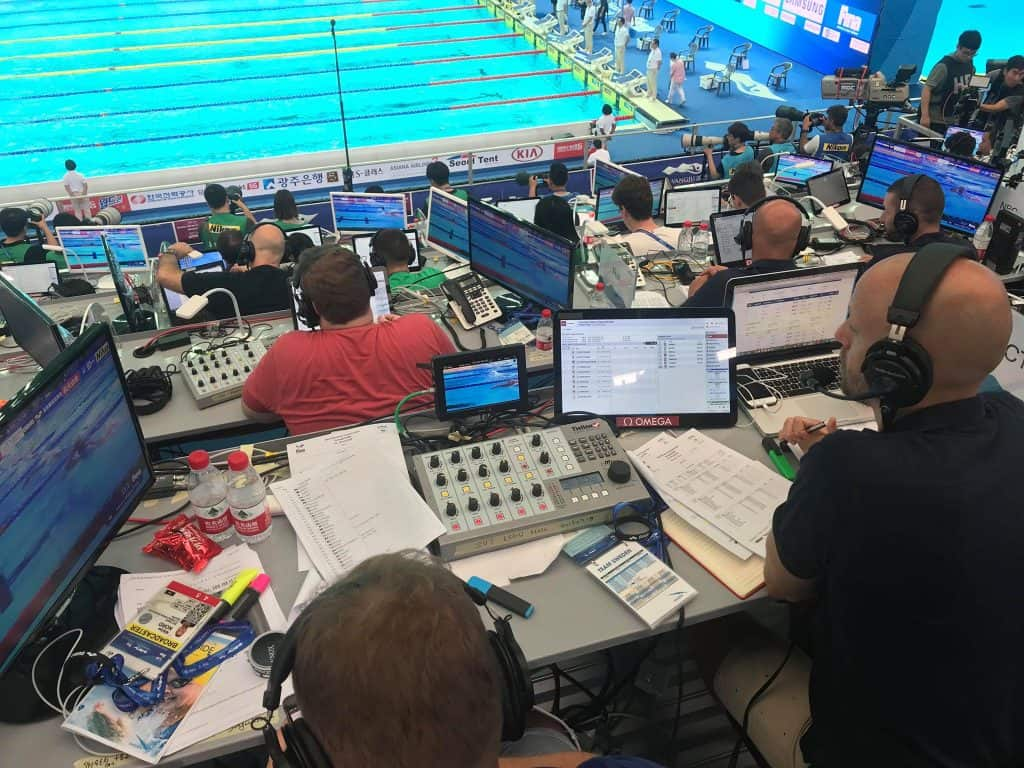 FINA 2019 Commentary Solutions with Tieline i-Mix G3