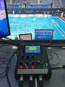 FINA 2019 Commentary Solutions with Tieline ViA
