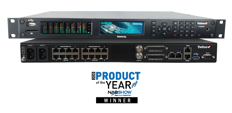 Tieline Gateway Wins NAB Show Product of the Year Award