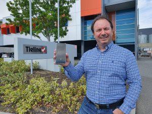 Charlie Gawley, Tieline VP Sales APAC/EMEA with Report-IT