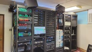 Rack Installation at Neuhoff Media